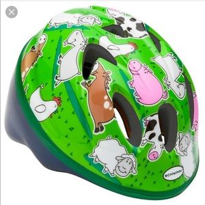 Schwinn Infant Boys Mix Pack Helmet-Farm Animals